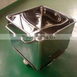 Stainless Steel Meat Trolley (Buggy, Bin, Cart) 200L TWO-piece