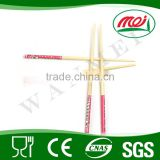 custom green personalised bamboo art and craft chopstick