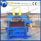 Used clothing baling machine, baler machine for used clothing, used clothes and textile compress baler machine