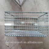 Heavy duty storage type custom size rigid steel metal wire mesh pallet industrial turnover box