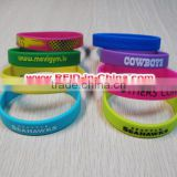 Nice Giveaway RFID Personalized Wristbands RFID NFC Silicone Wristbands for Festival Events