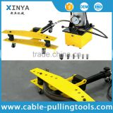 Portable electric hydraulic pipe bender/manual busbar bender