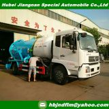 Dongfeng Foton 4x2 RHD drive 10ton sewer suction tanker for sale