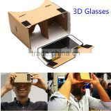 DIY GOOGLE Cardboard VR Virtual Reality 3D Glass For iPhone Google smartphone