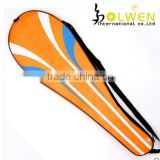 Hot selling simple badminton racket bag for sports with polyester
