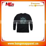 Hongen apparel china wholesale blank tshirt custom design top quality 100 polyester sublimation long t shirt