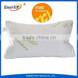 flame resistant bamboo fiber polyester memory foam filling pillows