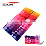 Manufacturers Custom Hair Tie Sublimation Twill Silk Scarf Bandana For Ladies