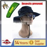 Cheap anti insect preventing cap quick dry uv cut