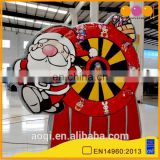 2015 new design lucky Christmas inflatable darts game for sale