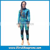 Professional Custom Plus Size Womens Underwater Spearfishing Suits For Hunter Insulation
