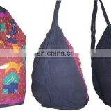 backpack Bag / Cotton Duffel laundry Bag / Drawstring bag