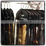 hair stylist bag Customized hair extensions packaging bags PVC hair extensions bags