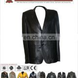 Leather Coat, Cuero Capa larga, Mujeres cubren la capa larga