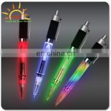 China Funny LED light Gift Plastic Ballpoint Pen for Kid&Student