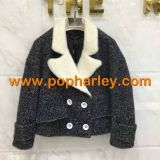 Factory wholesale fashion woman coat and jackets