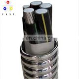 Electronical wire UL1569 with copper wire 300V 80 deg PVC insulation cable MC 750-750-750-1/0 750-750-750-3/0