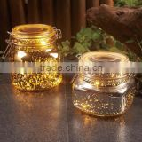 Solar Mason Jar Lid - LED Mason Jar Lights,Color Changing Fairy String Light for Glass Mason Jars and Garden Decor