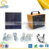 professional manufacuturer easy installation poly crystalline silicon home solar panel kit