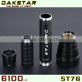 DAKSTAR ST76 XML T6 6100LM 26650 OR 18650 CREE LED Hunting Rescue Tactical Rechargeable Flash Torch Light Long Range