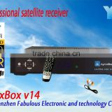JynxBox Ultra HD V14 hd dvb-s2 decoder for encrypted channels digital satellite tv receiver free North American channnel