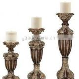 long stem clear tealight glass candle holder                                                                         Quality Choice