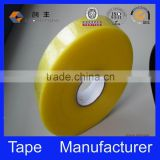 yellowish transparent jumbo roll bopp adhesive tape