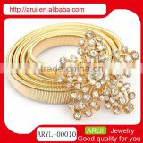 turkish jewelry gold filled chain with flower