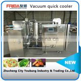 Steam jet vacuum quick cooling machine