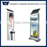 Solar powered LED sign/Outdoor Soalr led advertising board