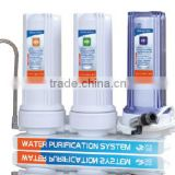 cheap pre-filtration countertop kitchen water filter tap water purifier for home PP+GAC+CTO