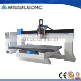 China Worktable Moving Woodworking Acrylic CNC Cutting Router Machine Price