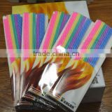 Wholesale chap plastic transparent plastic bag packaging for birthday candles/ birthday candles packaging bag wholesale