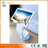 22 inch nice stand 1920x1080 touch screen info kiosk for advertising and information checking