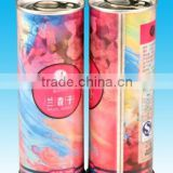 Custom Gift Round Metal Food Tin Can Empty Candy Tin Can Wholesale