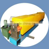 Down pipe roll forming machine for building drainage system