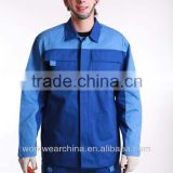 High Quality Work Wear Best Automotive Uniforms,work uniforms blue color 100% cotton lab coat