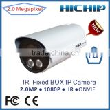 "Waterproof/Weatherproof 1/2.7"" Sony IMX222 1080P Bullet IP Camera IR with 3MP HD Lens"