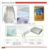 PVC mattress cover/Fitted vinyl mattress protecter, waterproof and anti-dust