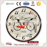 Outdoor travel bike relax design with big ben gift clock for auto show