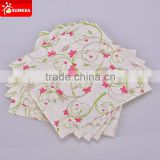2 Ply embossed disposable paper decoupage napkin