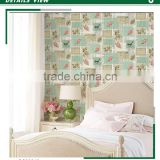 on sale printed non woven wallpaper, artificial flowers for wedding decoration , good wall sticker contractor