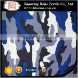 cotton polyester twill tip stop military navy ocean blue army camouflage fabric for garment