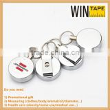 Branded colorful ID retractable badge holder reel for punching card and promotional gift For Your Logo