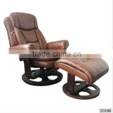 HQ-6023 modern design comfortable leather recliner chair / relax chair / living room furniture