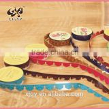 DIY Custom Colorful Adhesive Tape PU leather Lace Tape                                                                         Quality Choice