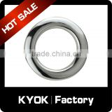 KYOK popular design double single curtain rods curtain eyelet rings,China manufacturer custom fancy curtain accessories