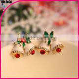 Fashion christmas girls earrings christmas bell earrings