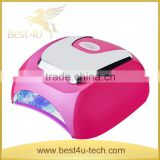 New Arrival Imported lamp beads 48W Sensor UV Nail Lamp with Fan and Advanced Configuration