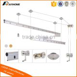 Aluminium Alloy ceiling pulley clothes dryer rack, Hand Lifting Balcony Ceiling clothes drying rack